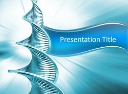 医学医药行业DNA序列缺氧核糖核酸PPT模板