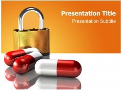 医学医药行业药物康复安全PPT模板