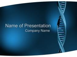 医学医药行业DNA基因序列PPT模板