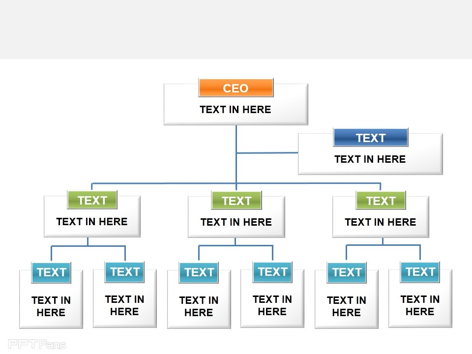 moonkey图表,组织架构,架构图,树状图,组织形式,公司规模_PPT设计教程网
