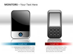 智能手机与平板电脑展示模型