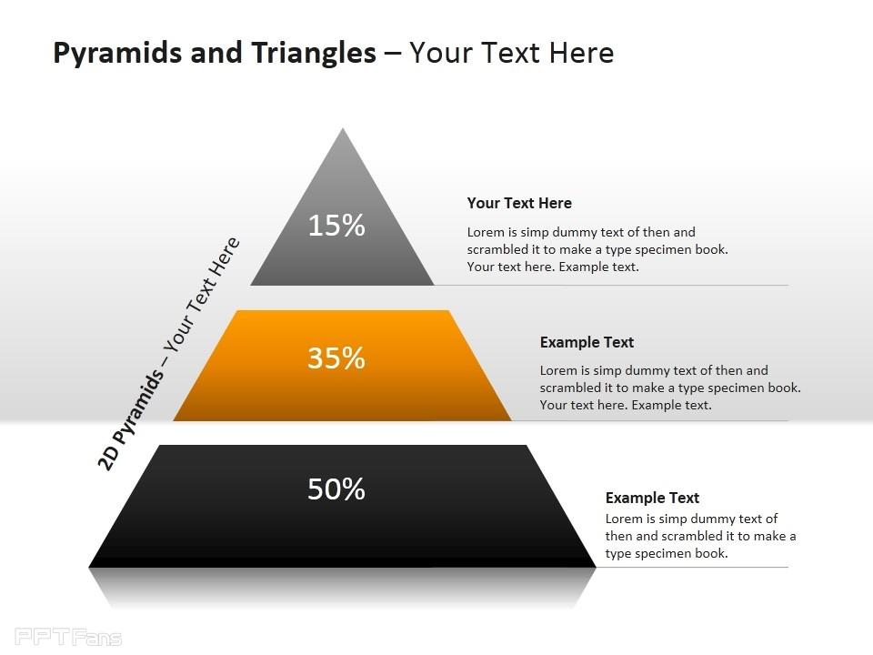 三层金字塔