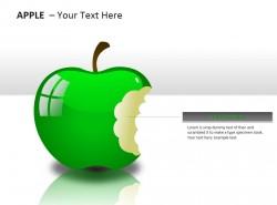 咬掉的苹果