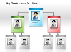 多层级企业组织架构图