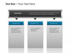 3方面 并列关系文本框