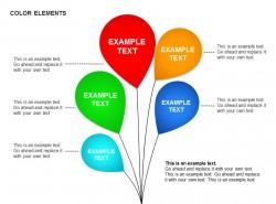 彩色气球五部分