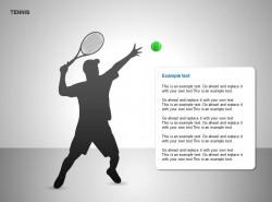网球图示文字说明