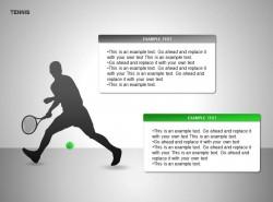 网球图示两部分说明