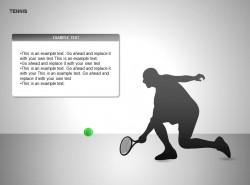单人网球运动说明