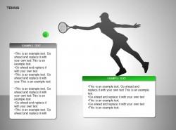 女子网球两部分说明