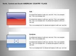 海地、洪都拉斯国旗
