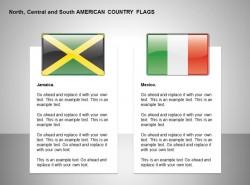 牙买加、墨西哥国旗