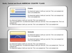 乌拉圭、委内瑞拉国旗