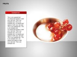 红色果子图示说明