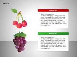 樱桃、葡萄图示说明