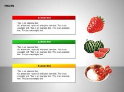 草莓、西瓜、红色果子图示