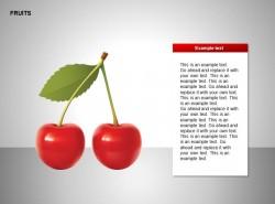 樱桃图示文字说明