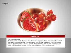 草莓、红果子图示
