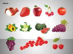 12种水果图示