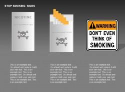 禁止吸烟三图示