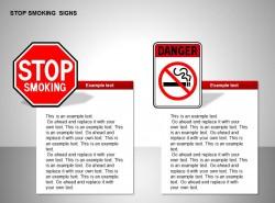 禁止吸烟图示两部分说明