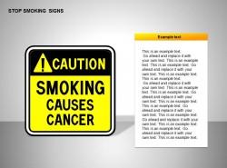 吸烟有害健康图示