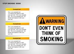 禁止吸烟三部分说明