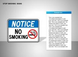 停止吸烟提醒