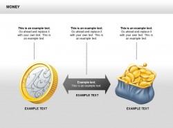 黄金硬币对比图示