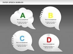 字母ABCD四对话框