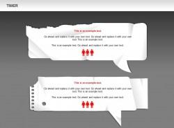 破纸张两对话框