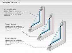 双层玻璃窗三图示