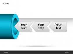 3D蓝色流水管
