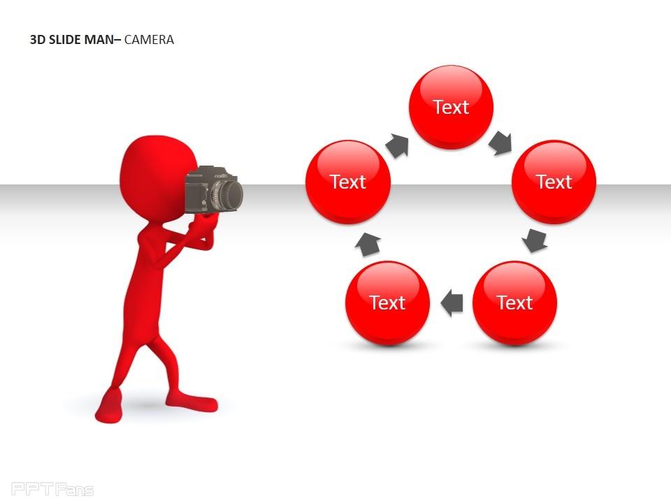 3d人物相机_ppt设计教程网