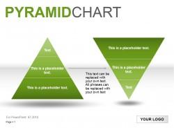金字塔之绿色图示