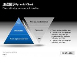 递进图示之金字塔