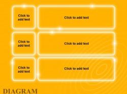 黄色发光目录文本列表