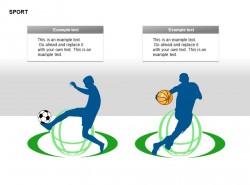 足球篮球运动图示文字说明