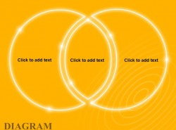 黄色发光2方面相交