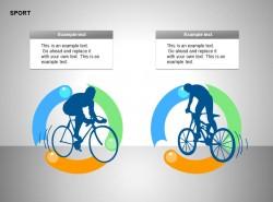 两部分自行车比赛插图文字说明