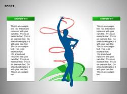 艺术体操插图两方面文字说明