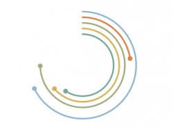PPT如何制作弧线比较图
