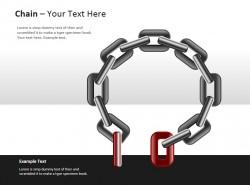 环形断开链子