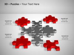 3D方形拼图之分散