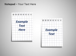 双页两栏白色网格笔记本背景板