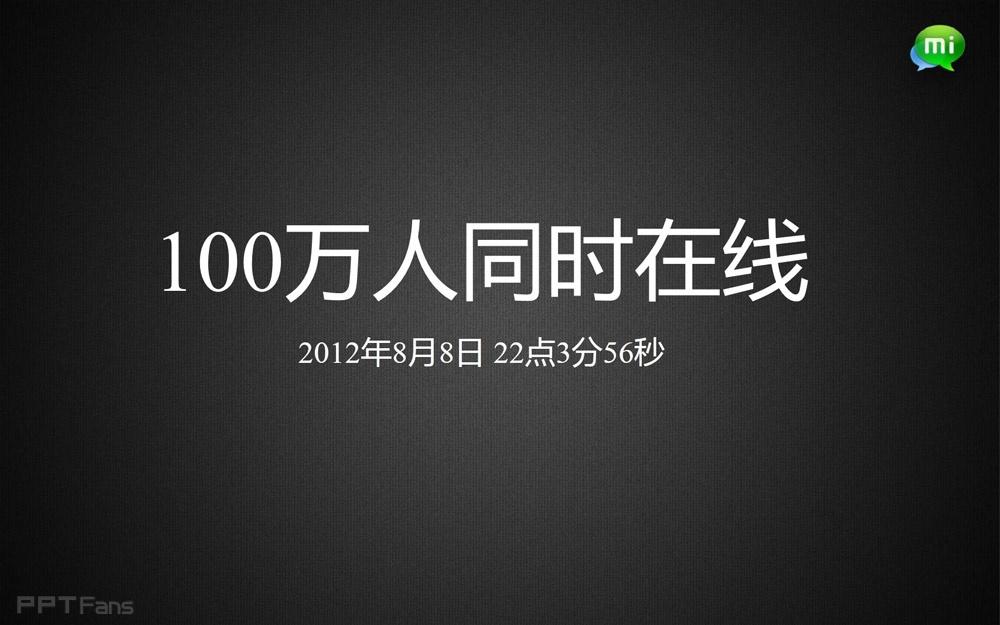 小米2发布会ppt下载