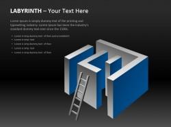 立体迷宫与梯子图示2