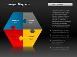 四项介绍六角拼图