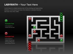 两部分说明红绿灯迷宫图示