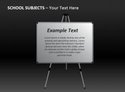 教学白板Powerpoint模板免费下载